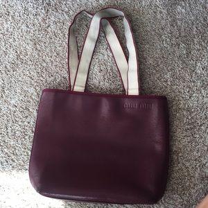 Cute used miu miu bag